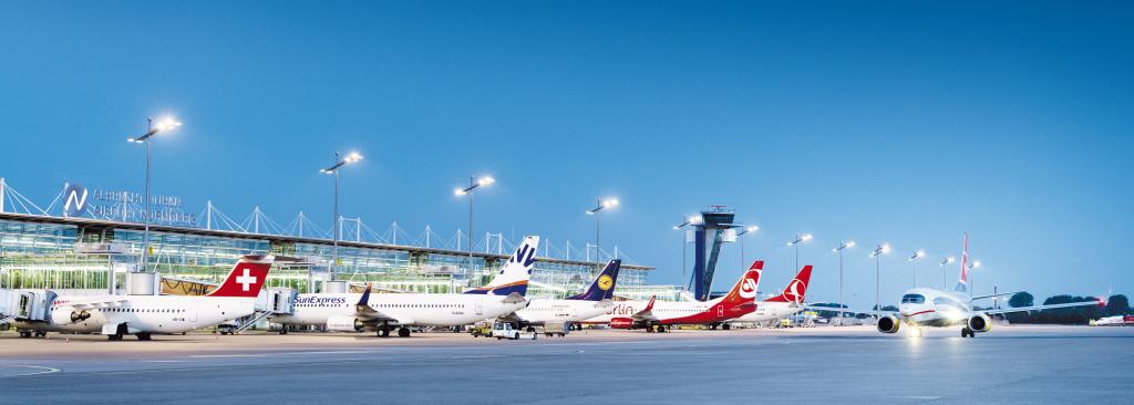 Von Nürnberg in die ganze Welt: der Albrecht Dürer Airport Nürnberg