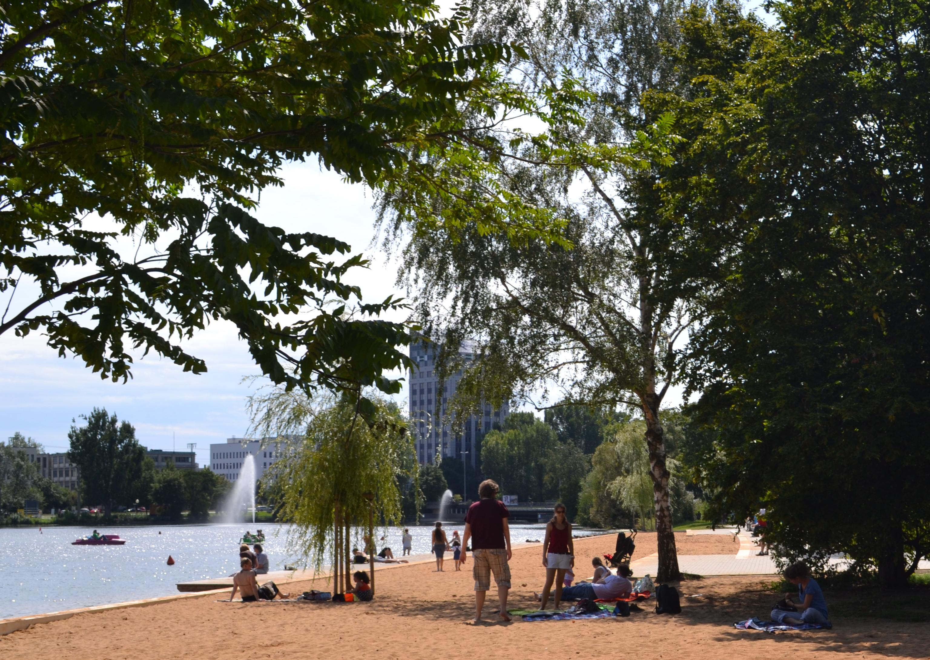 Wöhrder See in Nürnberg
