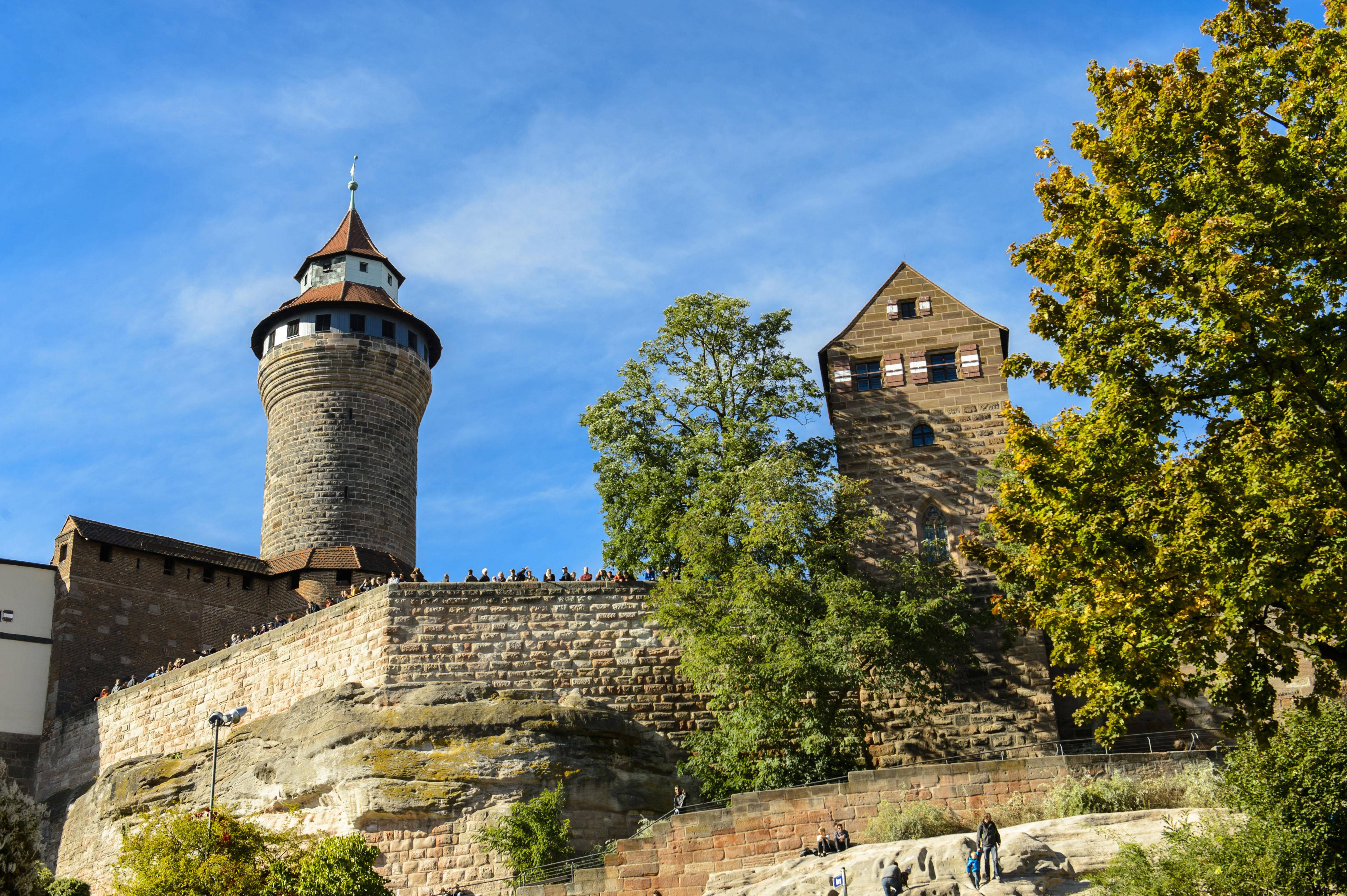 Kaiserburg Nürnberg - Sinwellturm