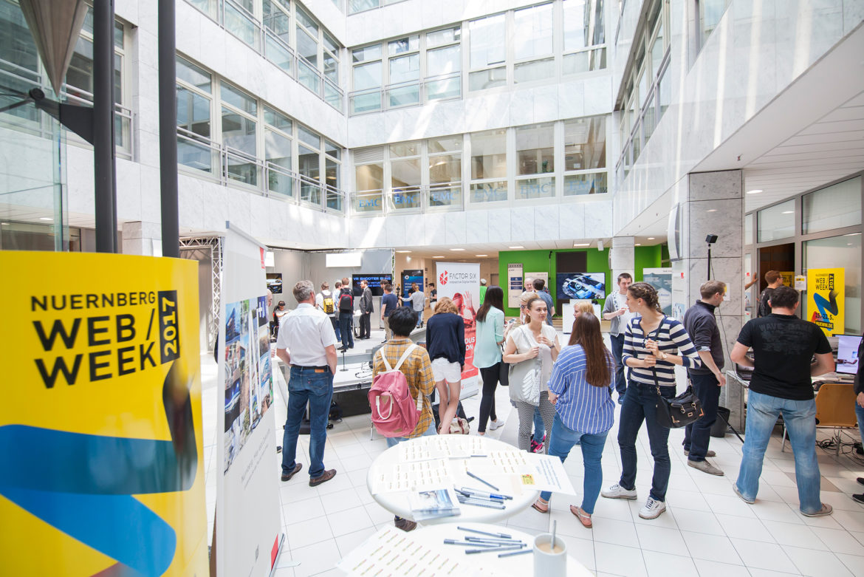 Von Fake News über Arbeiten 4.0 bis hin zu Virtual Reality –  Ein Rückblick auf eine erfolgreiche Nürnberg Web Week 2017