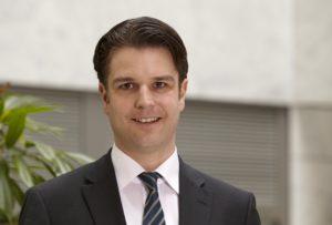 Daniel Pfaller, Geschäftsführer der Süd-West-Park Management GmbH