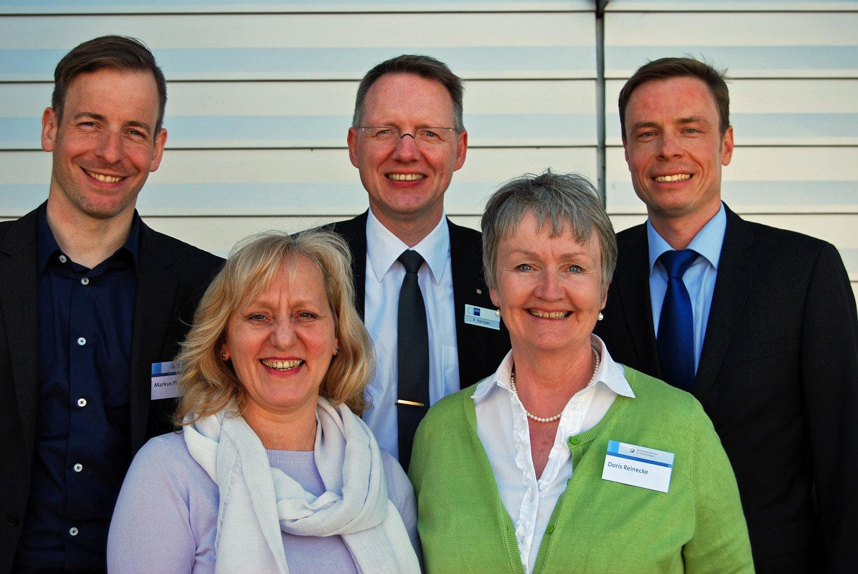 Koordinatoren der Initiative Familienbewusste Personalpolitik der Metropolregion Nürnberg