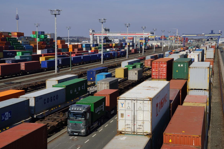 Ein bedeutender Wirtschaftsfaktor für die Region: Der bayernhafen Nürnberg und Roth