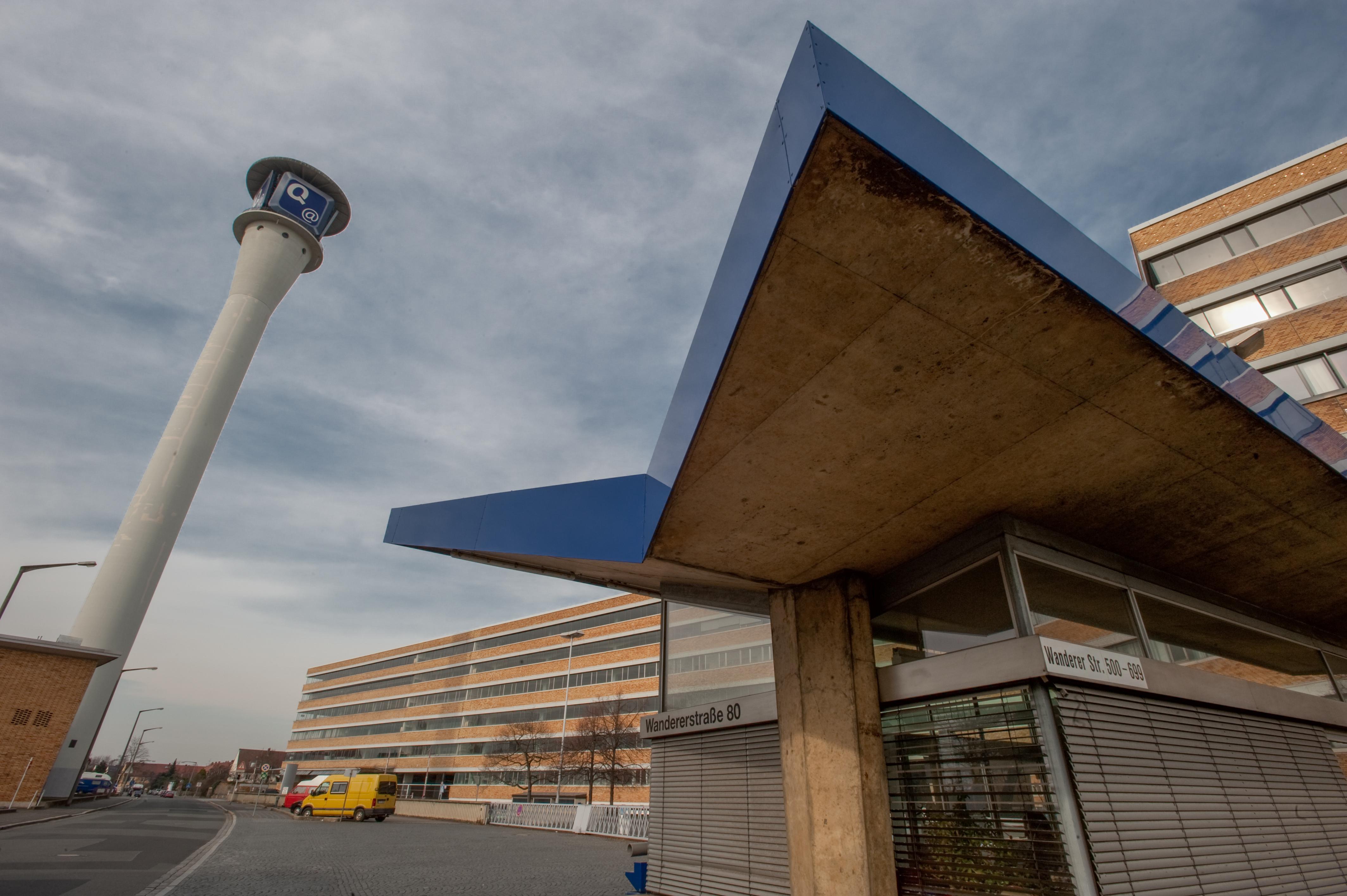 ehemalige Quelle-Versandzentrum Nürnberg