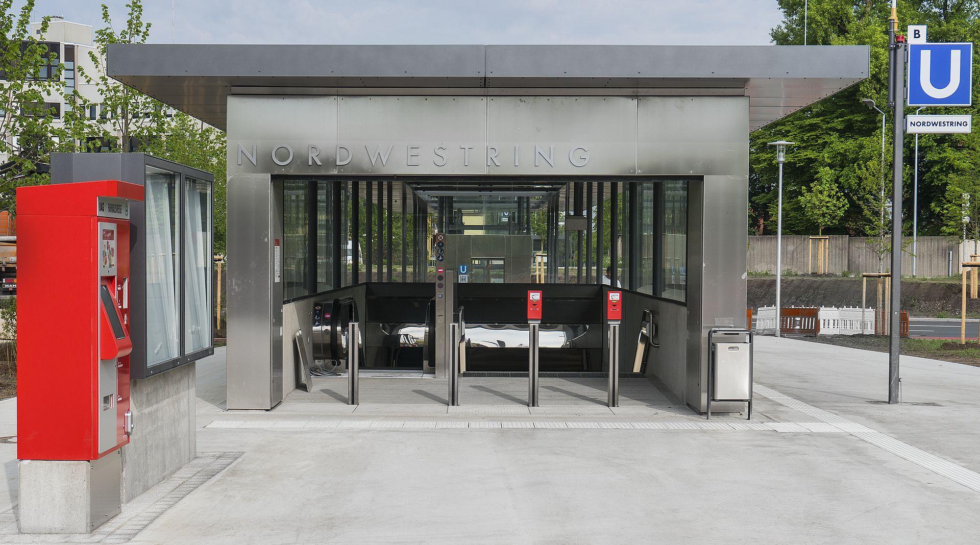 U-Bahn Nordwestring Nürnberg