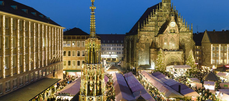 Die Weihnachtsstadt Nürnberg lädt zum Christkindlesmarkt