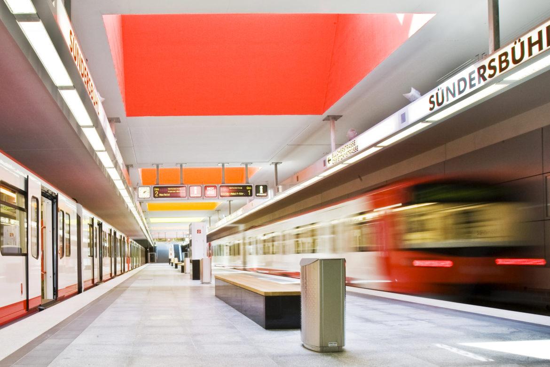 Seit 50 Jahren im Untergrund: Nürnbergs U-Bahnnetz verbindet
