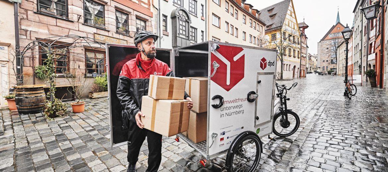 Citylogistik-Projekt: Nürnberg ist bundesweiter Vorreiter für Lasten-E-Bikes