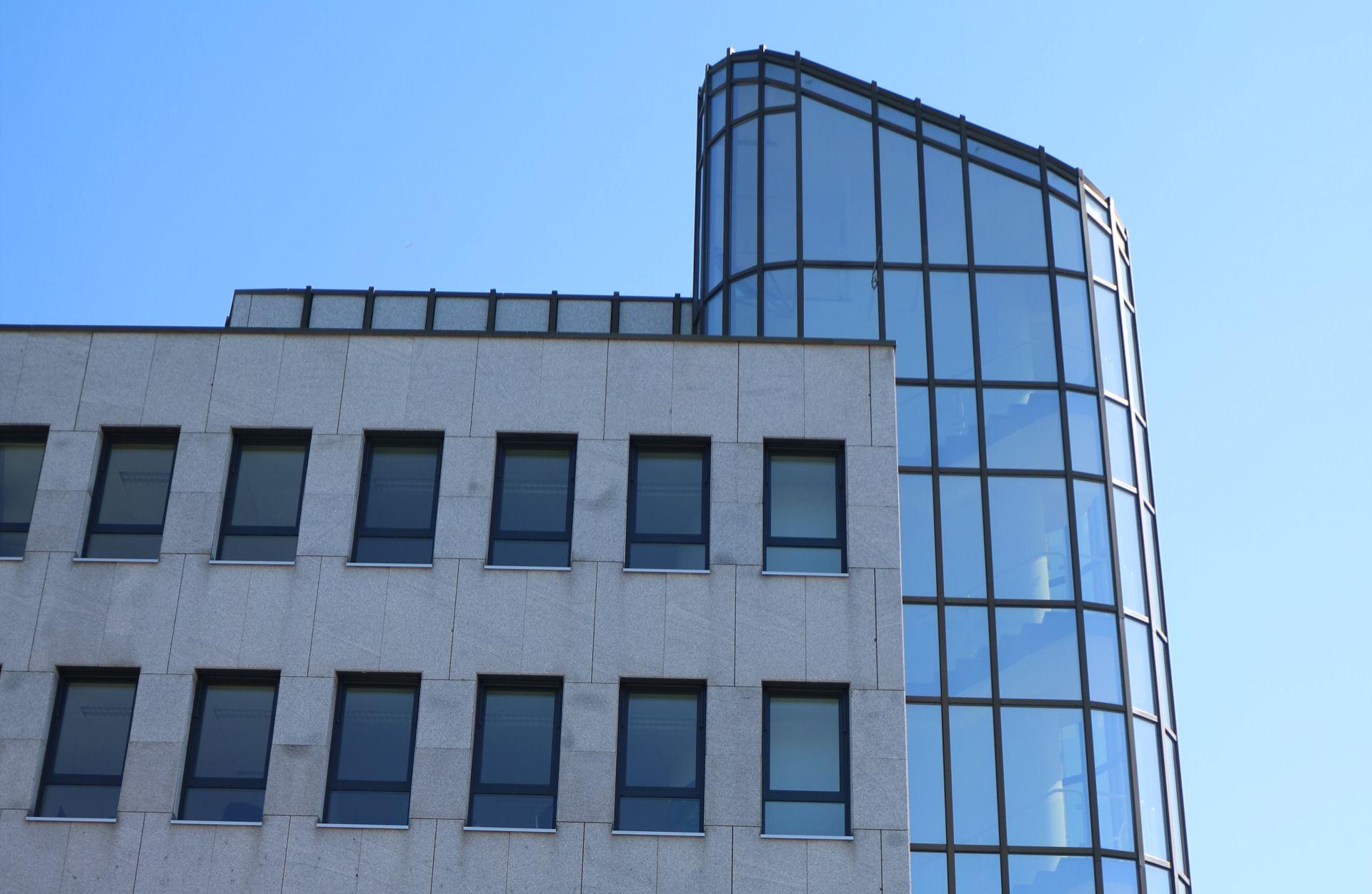 Fassade des Gebäudes NFFX in der Fürther Straße