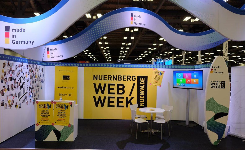 Nürnberg Web Week unterwegs als Deutschlands digitaler Botschafter