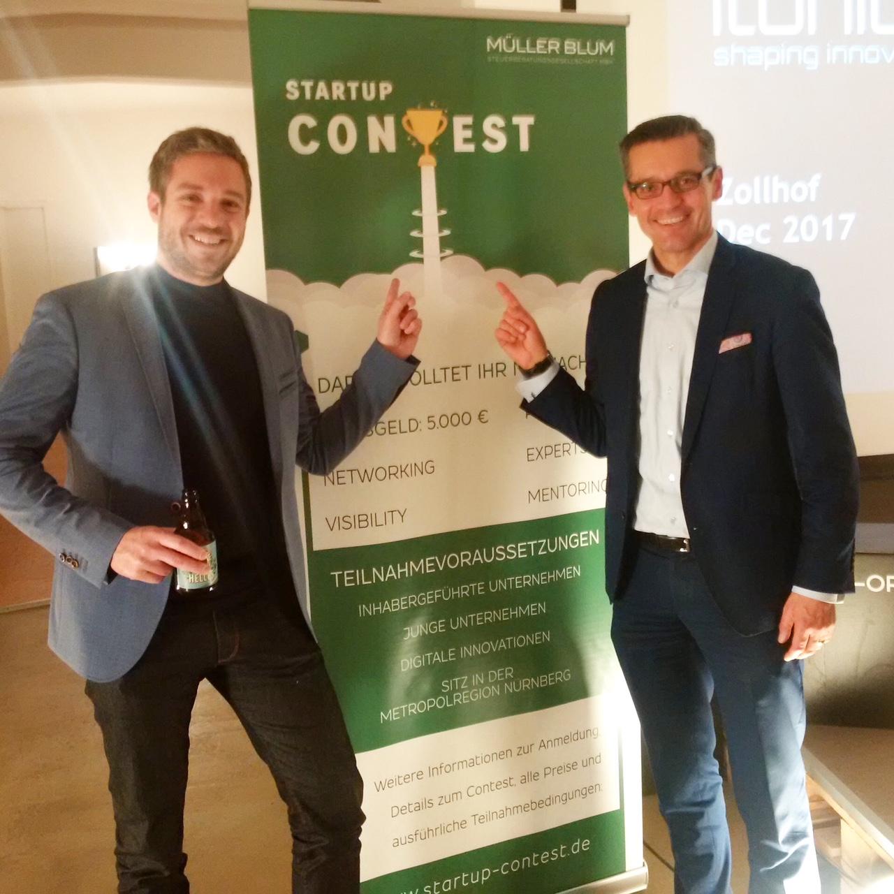 Herrn Dr. Fraas auch Dr. Michael Durst, Founder & CEO von der itonics GmbH