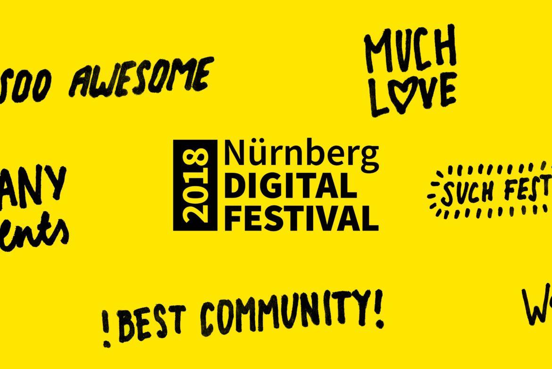 So geht Wachstum: 12.000 Besucherinnen und Besucher beim Nürnberg Digital Festival 2018