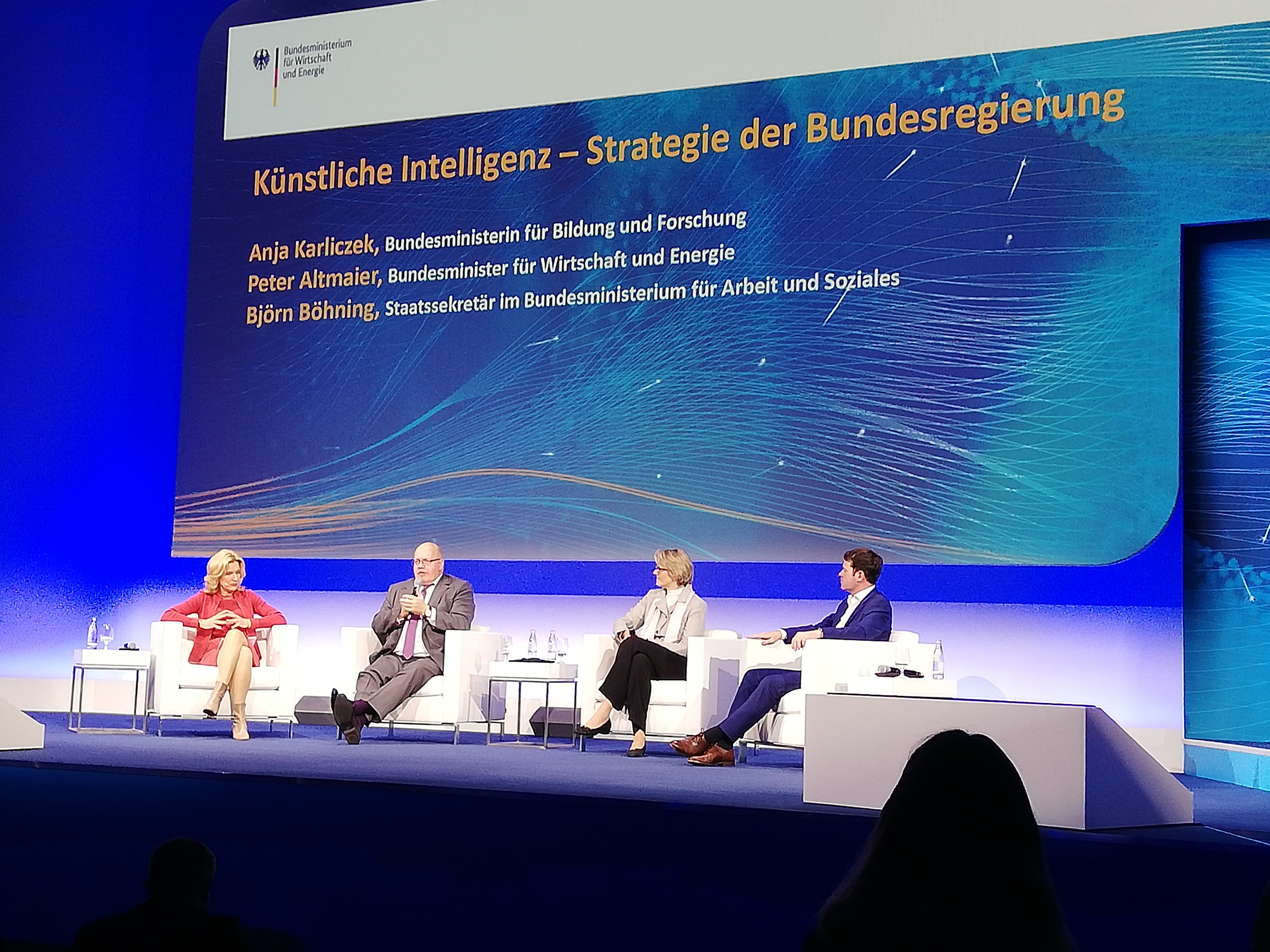 Digital Gipfel 2018 in Nürnberg © Wirtschaftsförderung Nürnberg